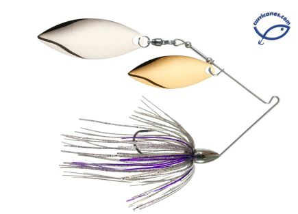 WAR EAGLE SPINNERBAIT NICKEL WILLOW/WILLOW 1/2 OZ WE12NW