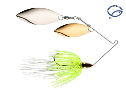 WAR EAGLE SPINNERBAIT GOLD WILLOW/WILLOW 1/2 OZ WE12GW